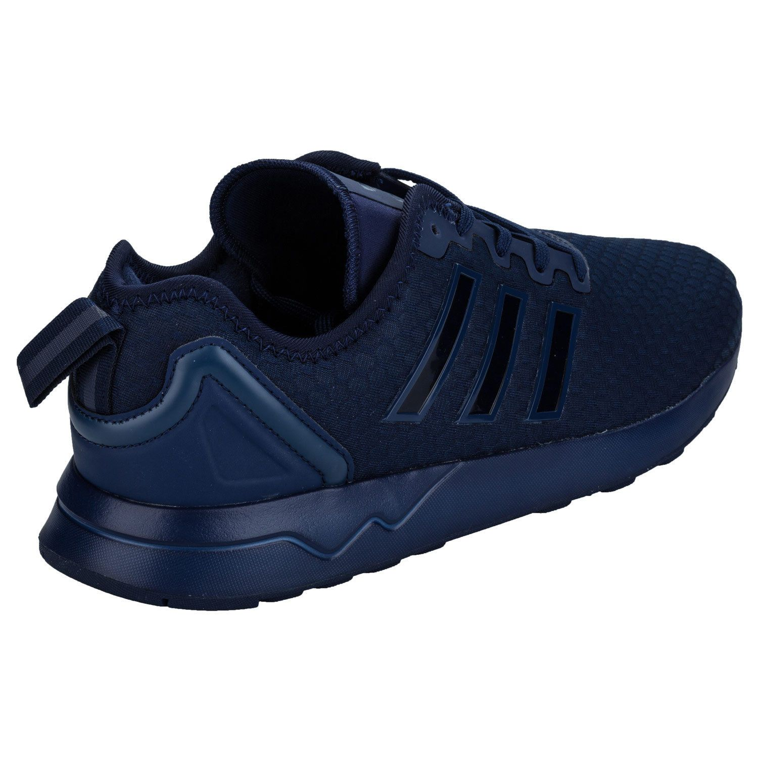 online store 7e30a 9a281 Men's adidas Originals ZX Flux ADV Trainers In Dark Blue